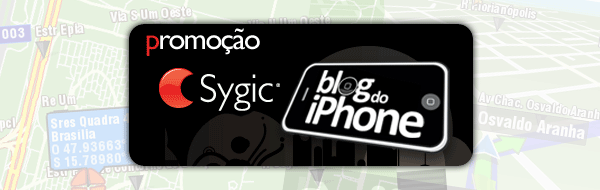 Promoção Sygic Blog do iPhone