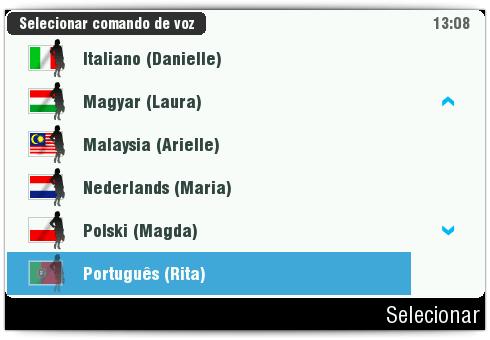 Mais de 30 línguas incorporadas