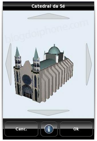 Catedral da Sé, em 3D