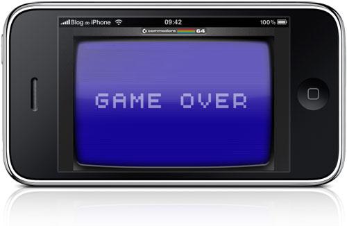 Fim do emulador C64 na App Store