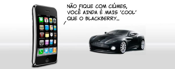 iPhone é mais cool que o carrão da Aston Martin