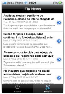 Notícias de futebol