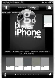Cores de uma imagem ou logotipo