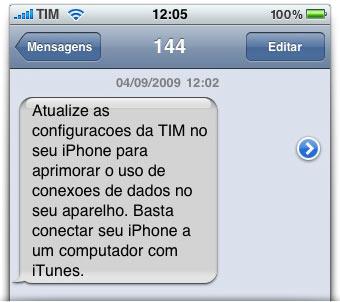 SMS da TIM
