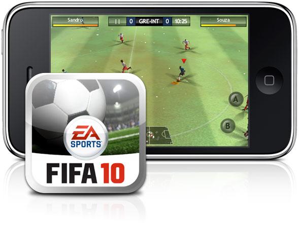FIFA 2010 para iPhone OS