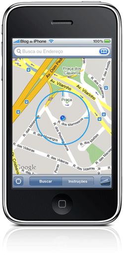 Geolocalização com o iPhone