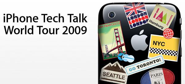 iPhone Teck Talk World Tour 2009