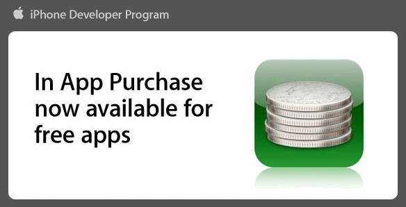 Compras In App para aplicativos gratuitos também