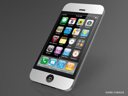 "Conceito 'iMac"" para o iPhone"