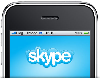 Skype funcionando pela rede 3G