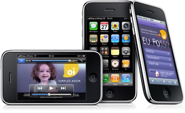 iPhone pela Oi