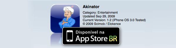 Disponível na App Store BR