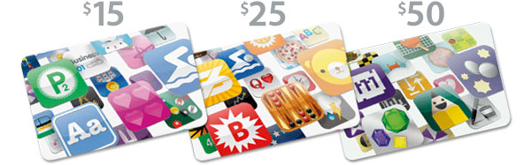 Compra de créditos para aplicativos