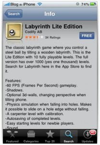 Labyrinth Lite