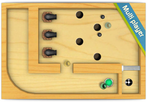 Labirinto de madeira