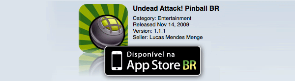 Undead Attack Pinball BR