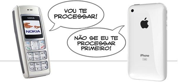 Nokia x Apple: Round 2!