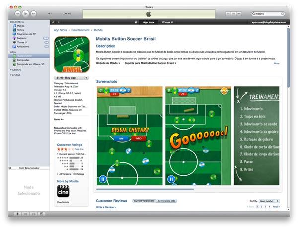 Novo design da App Store