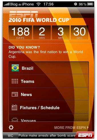 ESPN 2010 World Cup
