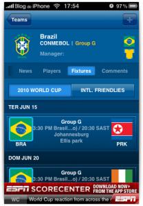 Times da Copa