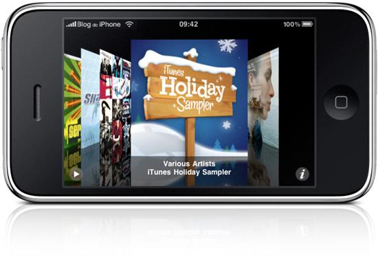 iTunes Holyday Sampler