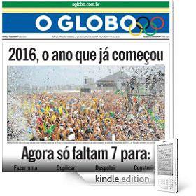 O Globo em formato Kindle