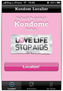 Kondom Localizr