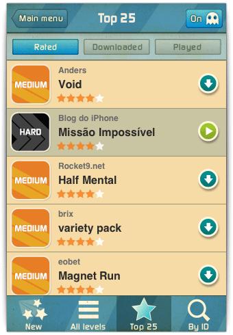 Pacotes de níveis para download gratuito