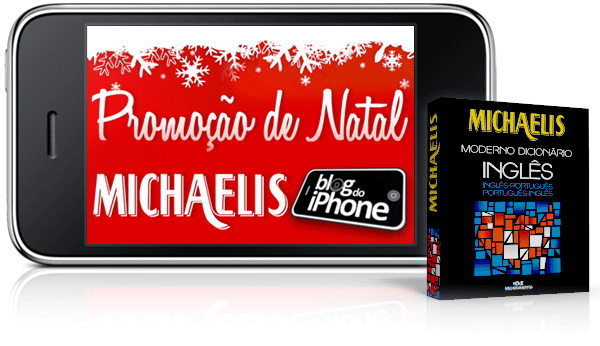 Promoção de Natal Michaelis Blog do iPhone
