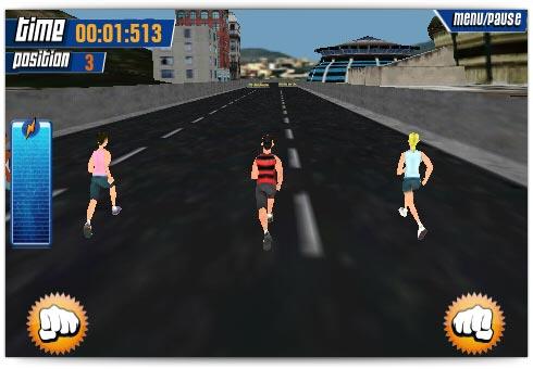 Correndo pelas ruas do Rio