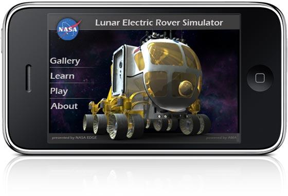 Nasa lança simulador de Rover lunar para iPhone e iPod ...