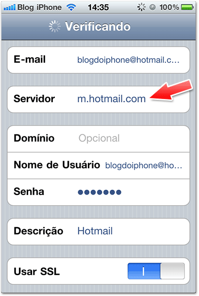 how to add u of t email to iphone