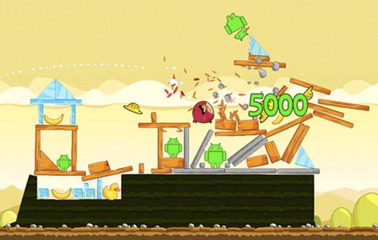 angrybirdsandroid Jogo Angry Birds é vítima da fragmentação da plataforma Android